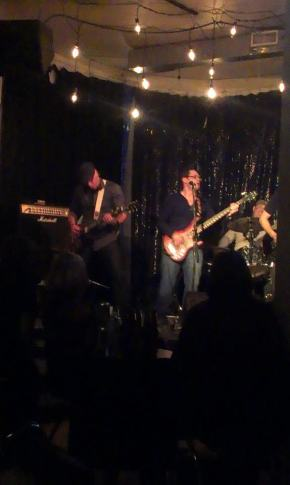 A blurry picture of one of my favourite memories at the Artery.